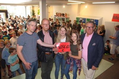 Oberschüler arbeiten und spenden mehr als 3000 Euro