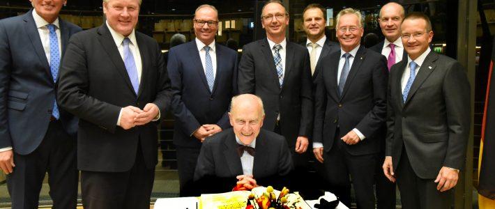 Festakt für den Unternehmer Böllhoff