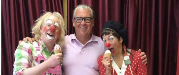 Clownswohnung: Auch der Freundeskreis unterstützt das Projekt
