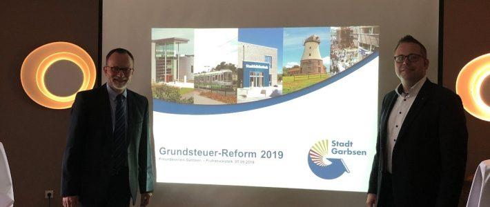 Frühstückstalk mit dem Thema: Grundsteuerreform